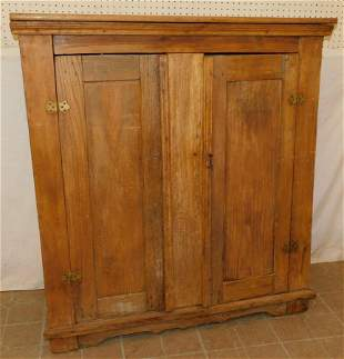 Antique Pine Pantry Cupboard