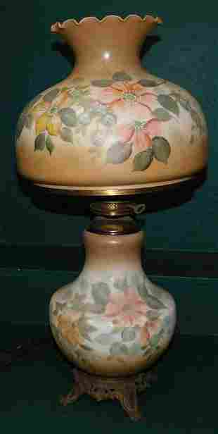 Vintage Hand Painted GWTW Lamp