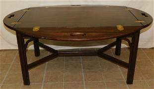 Henkel Harris Mahogany Butlers Tray Coffee Table