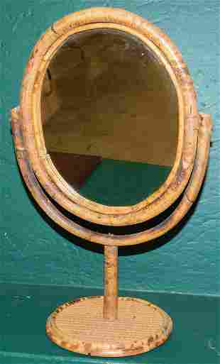 Bamboo Shaving Mirror