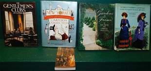 Lot 5 Coffee Table Books
