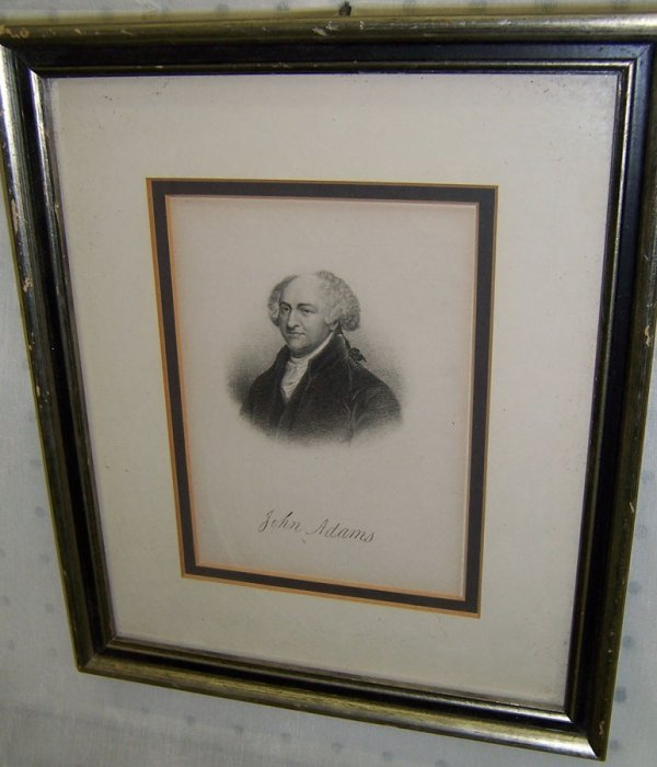 1: Print or engravings of John Adams