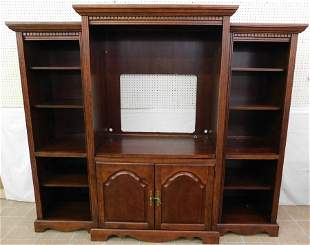 3 Section Cherry Bookcase