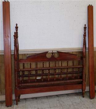 Cherry Jenny Lind Full Size Bed