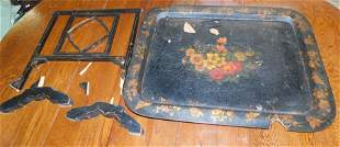 Paper Mache Tray in As Is Condition