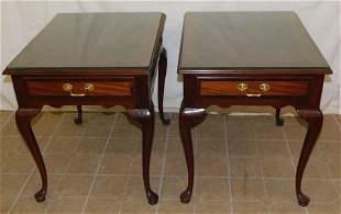 Pr Mahogany QA 1 Dr Tables by Council Craftsman