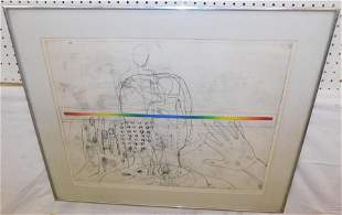 Pencil Signed Framed Drawing