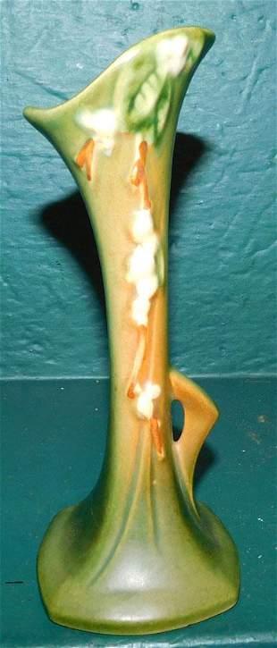 Roseville Snowberry Bud Vase