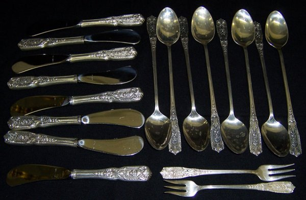 6: (18) Pieces of sterling