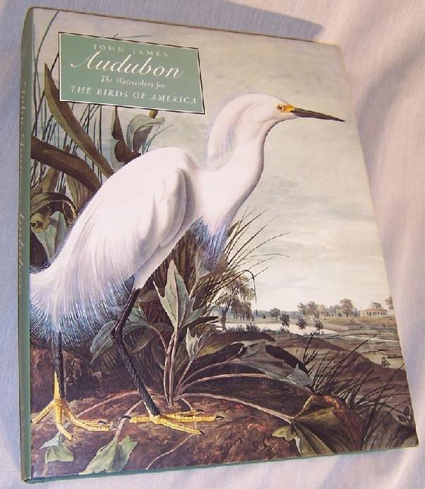 20: John James Audubon book - Water colors of birds