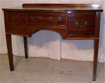 438 Mahogany Hepplewhite server or dressing table