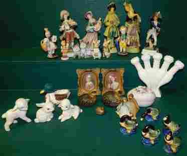 Lot of Porcelain Figurines