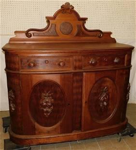 Victorian Walnut Sideboard