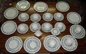 "48 Pcs Dinnerware ""Arbor"" By Theodore Haviland"