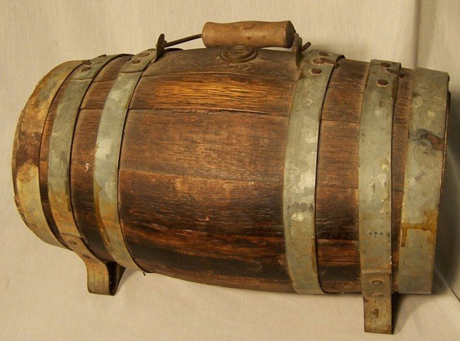 4: Oak wine keg.