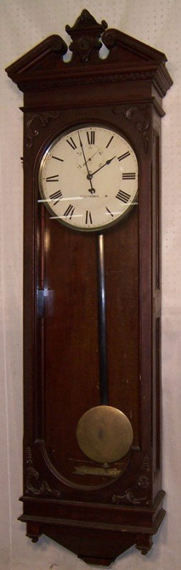 332: Seth Thomas wall clock, time only.