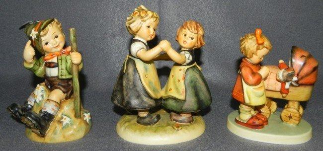 8: (3) Hummel figurines