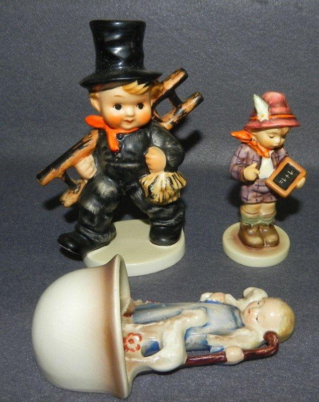 13: (2) Hummel figurines- 1 with original box.