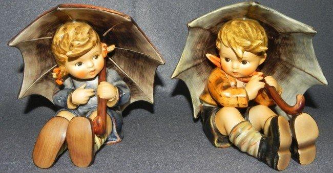 18: (2) Hummel figurines- 1 with original box.