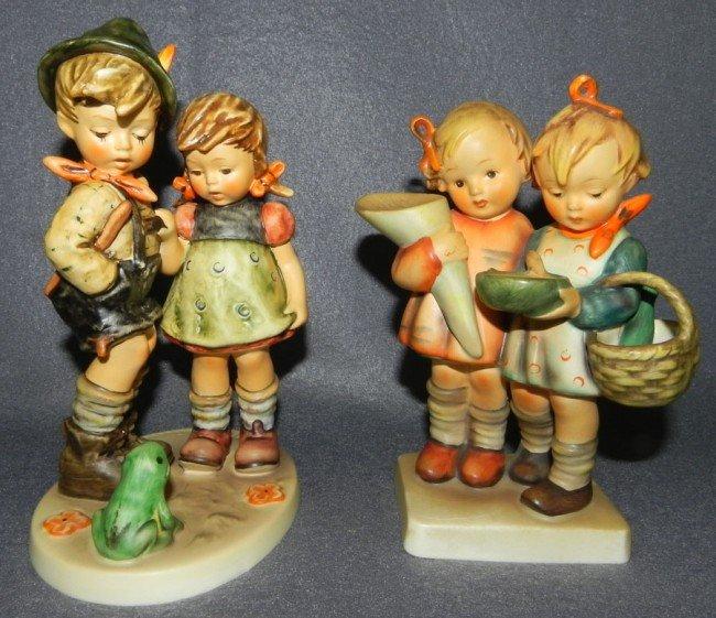 20: (2) Hummel figurines