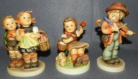 (3) Hummel Figurines - 1 With Original Box.