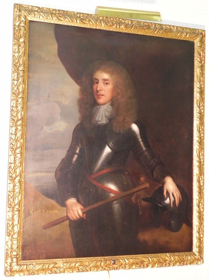 368: OOC Portrait. First Earl of Craven, 1608-1697