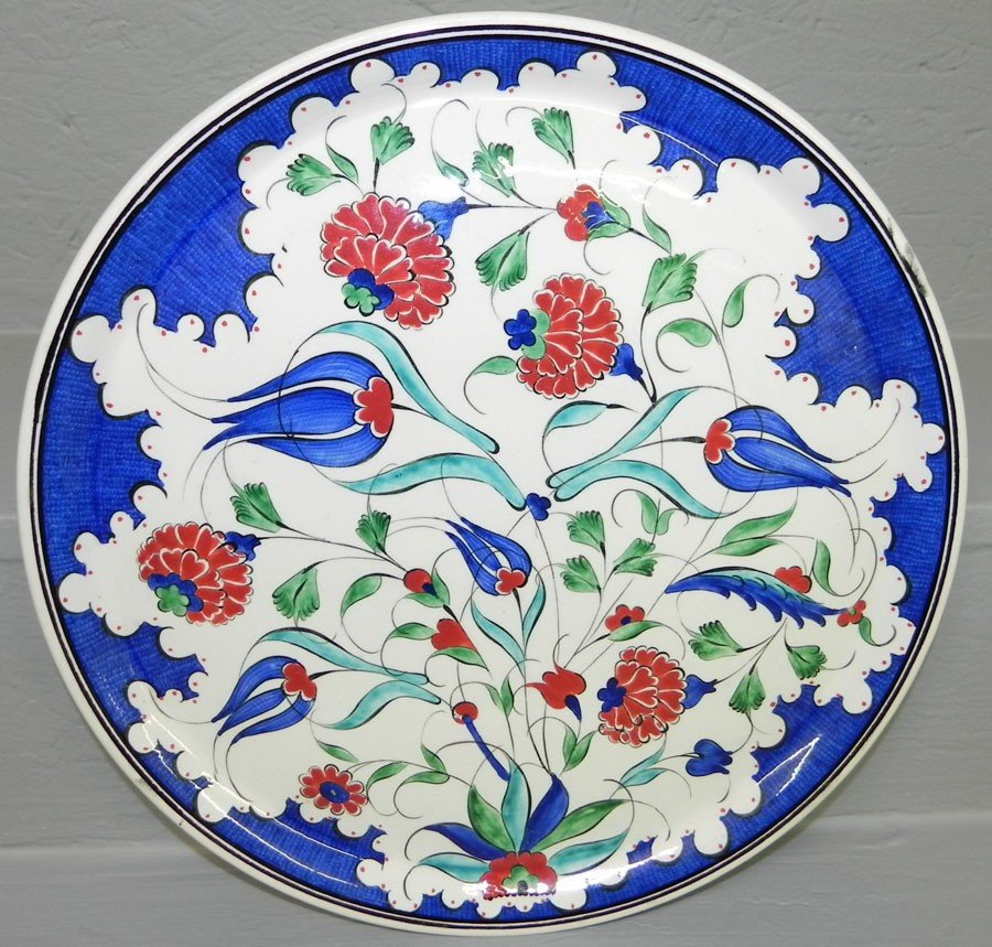 "9: Turkish wall plaque (12 3/4"")"