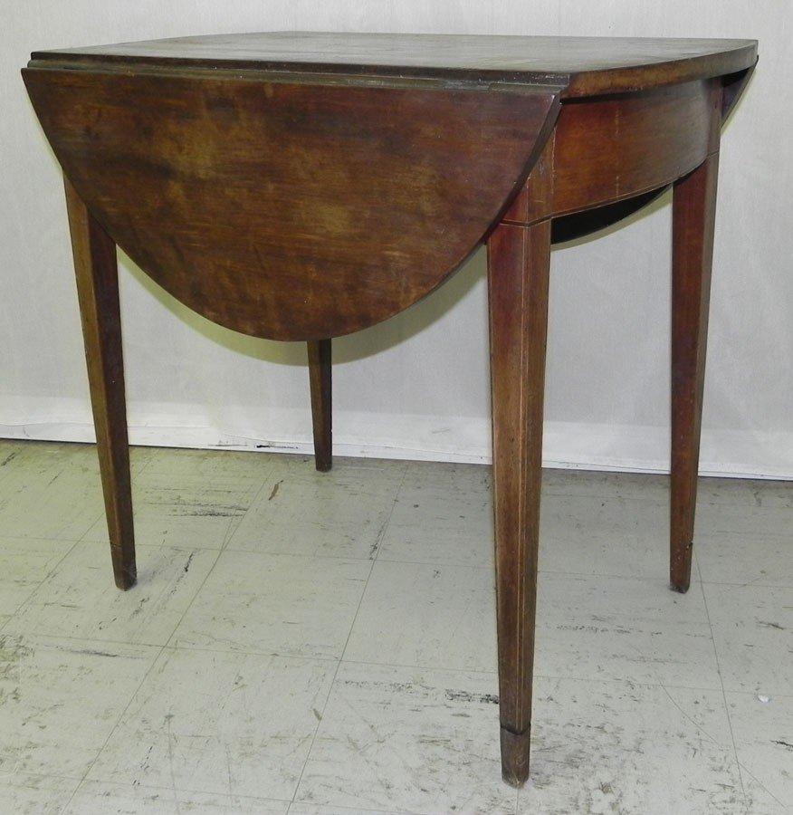 12: Cherry dropleaf Pembroke table