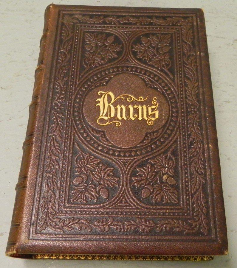 22: (1) leather bound book, Circa 1873.