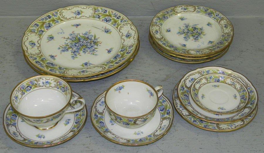 19: (12) piece lot of Bavarian china.