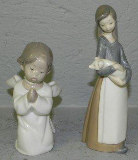 (2) Lladro Figurines