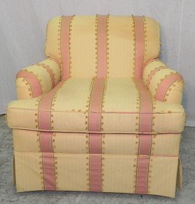 Trends And Traditions Upholstered Club Chair.