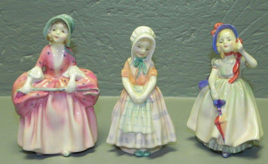 1: (3) Royal Doulton figurines