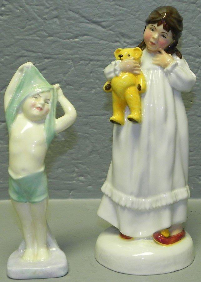 4: (2) Royal Doulton figurines