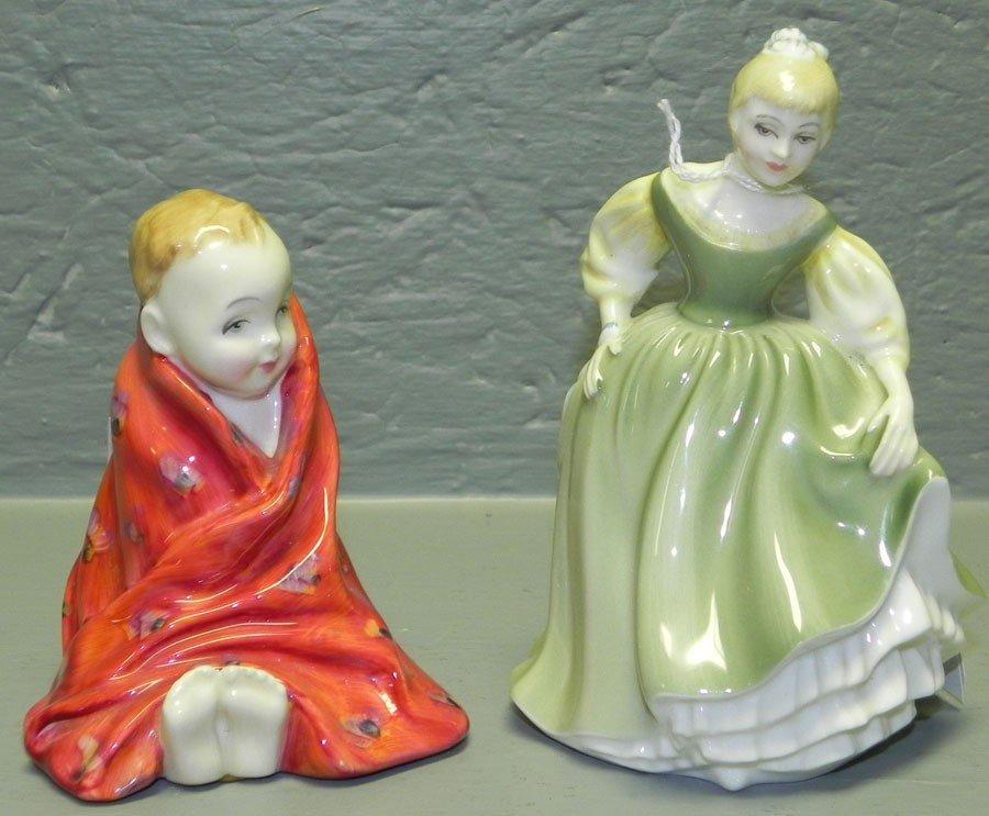 6: (2) Royal Doulton figurines