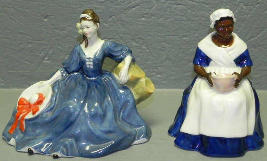 9: (2) Royal Doulton figurines