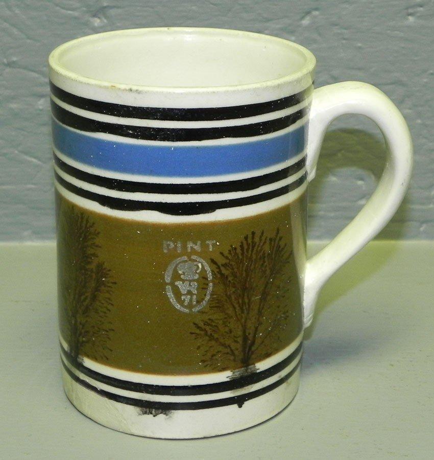 10: Mocha pint size mug.