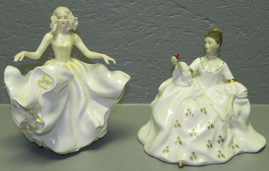 11: (2) Royal Doulton figurines