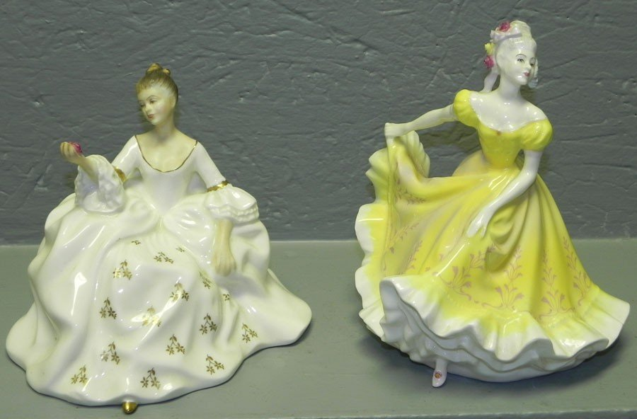 12: (2) Royal Doulton figurines