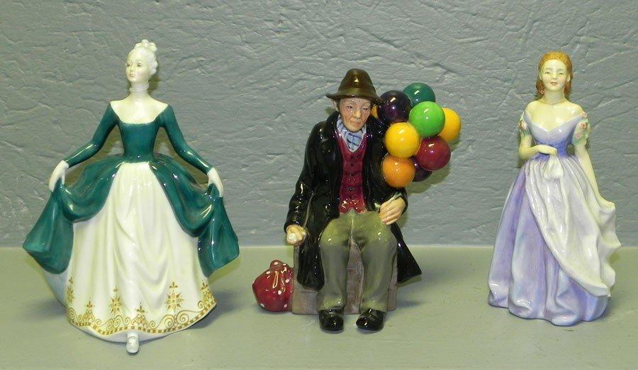 13: (3) Royal Doulton figurines