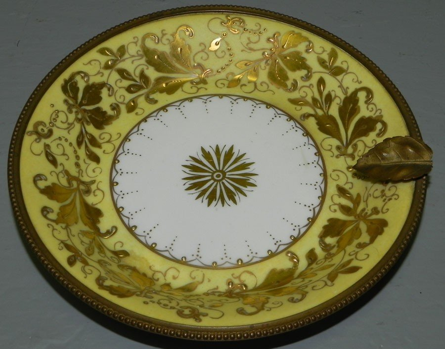 30: Signed Sevres small dish.