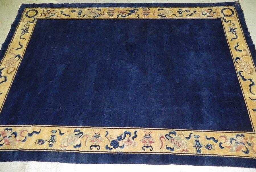112: Handmade Chinese Oriental rug
