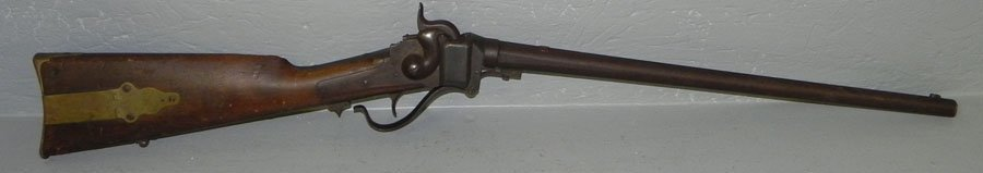 144: Sharps' carbine from the Holloway estate.
