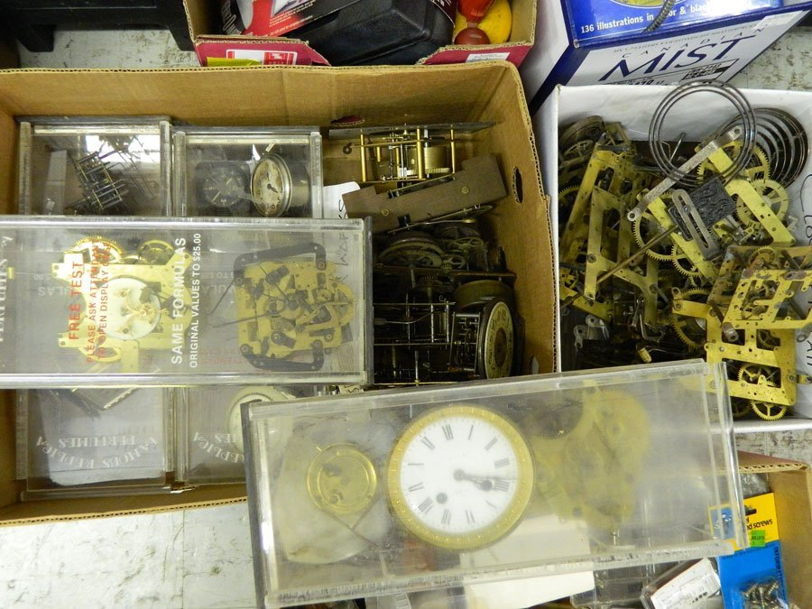 969: Clockmakers' bench and tools. - 6