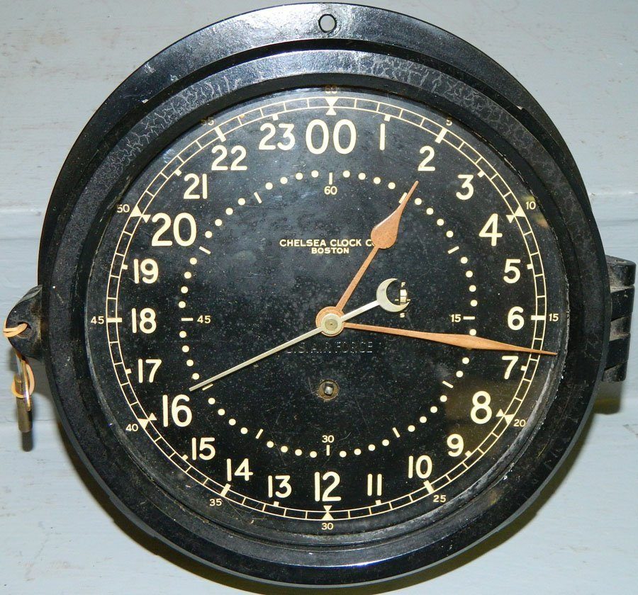 480: Chelsea Air Force clock.