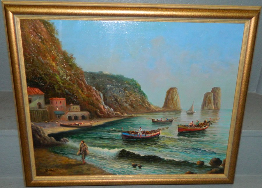 Seashore oil on canvas.