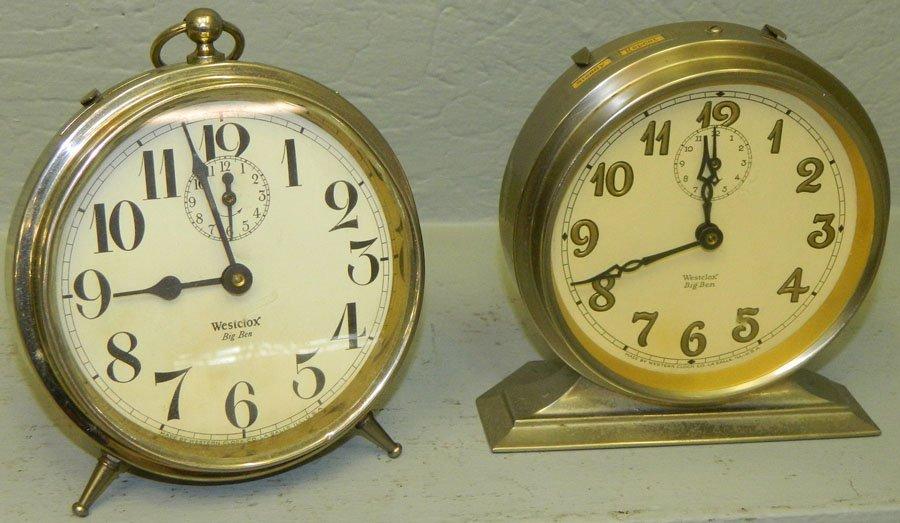 (2) Big Ben clocks.