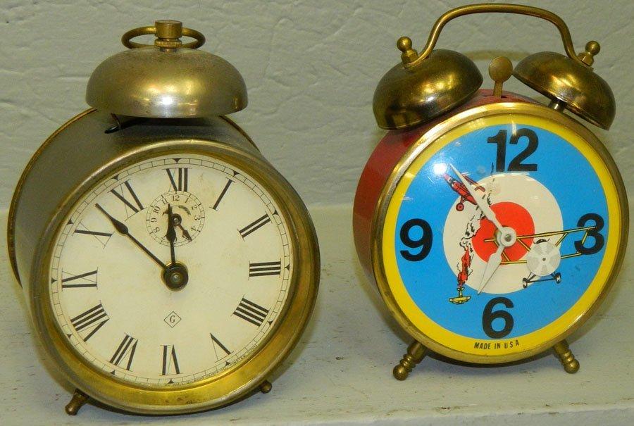 (1) Gilbert Clock Co & (1) Robertshaw Control.