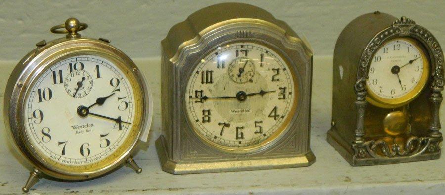 Baby Ben, Westclox Alarm, pendulum clock.