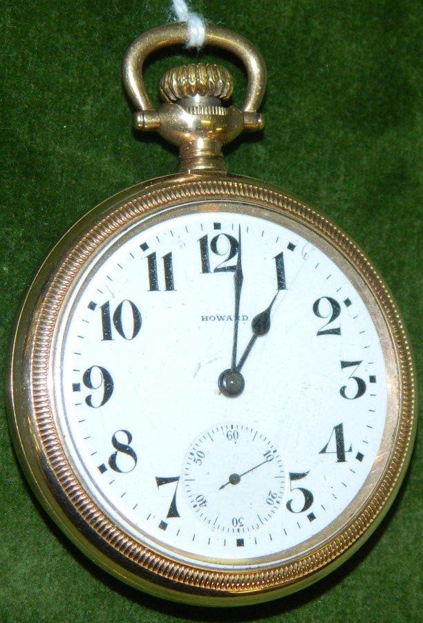 Pocket watch by E. Howard Watch Co.